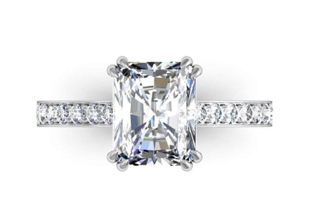 diamond engagement ring design