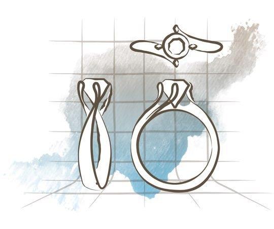 custom-engagement-ring-design-process